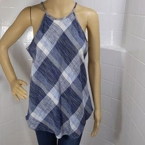 Maurices Plaid Tank Top Size Small